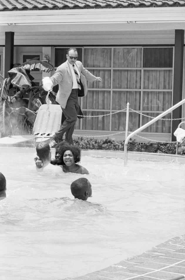 James Brock Dumping Acid into Swimming Pool